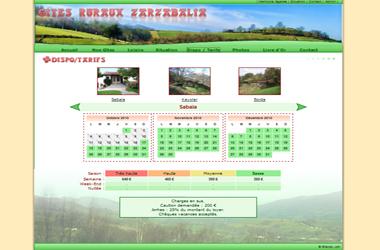 Gîtes ruraux Zarzabalia