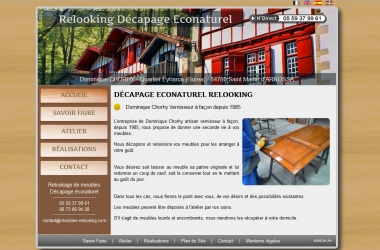Relooking Décapage Econaturel